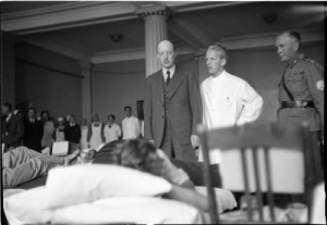 Presidentti puhuttelee potilaista sotas – kopio