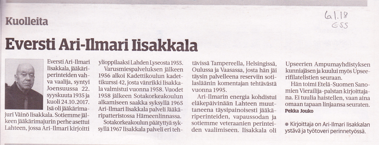 Ari-Ilmari Iisakkala