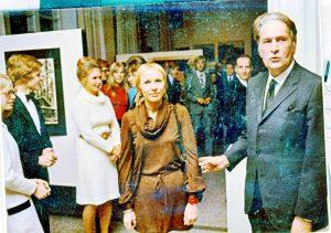 Lahden Lyseo 50 a 1971-8, Ritva Tuomikoski, Vuokko Heimolinna, Antti Raipala