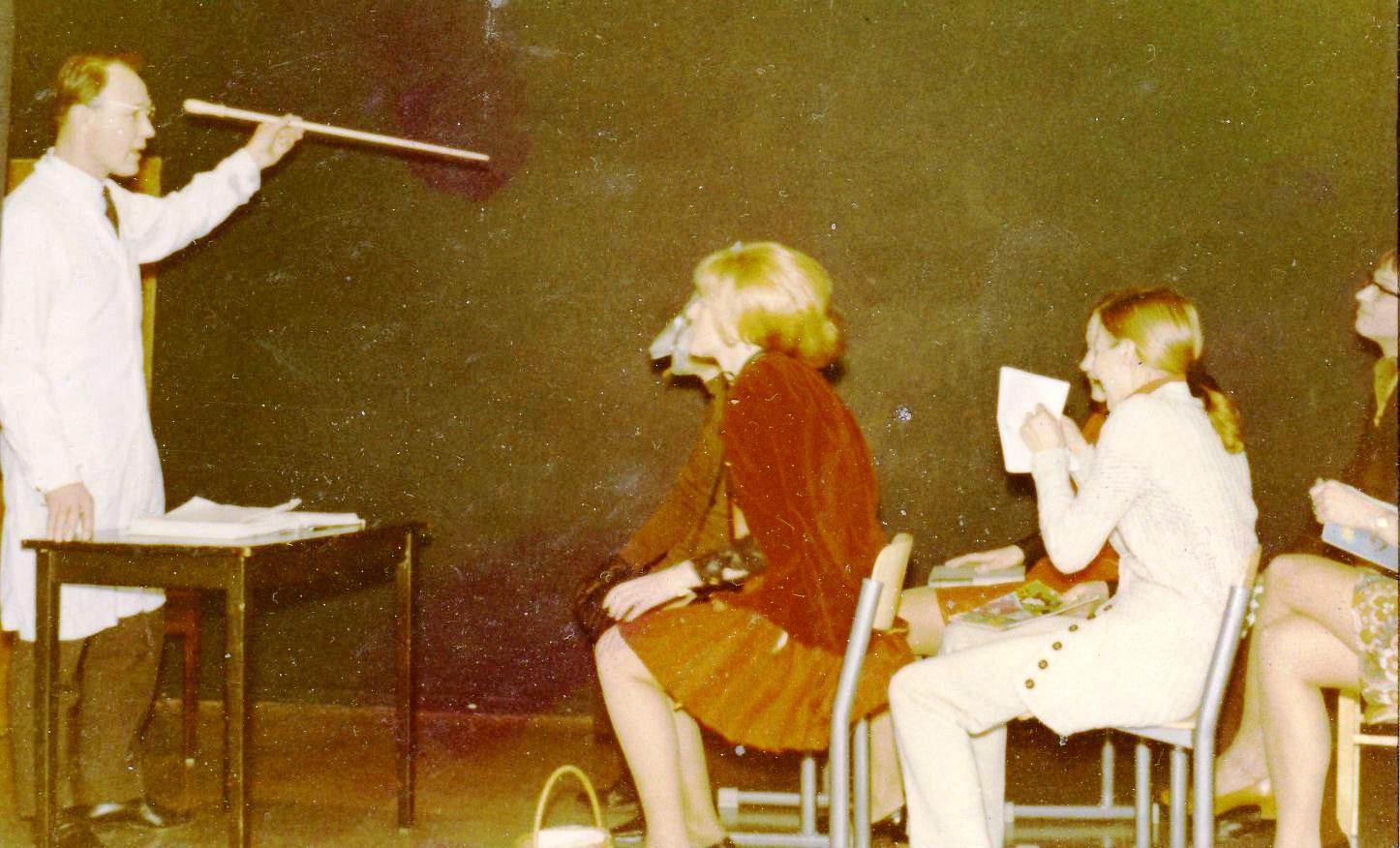 Lahden lyseon opettajia 1971 Valto Peiponen, Irma Ojala